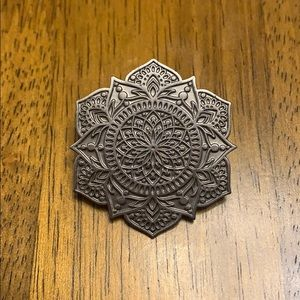 Mandala pin! (Bought at rave show) ♥️